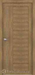 Межкомнатная дверь Дверной вопрос Life ПДГ 2110 Вельвет Орех