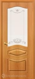 Межкомнатная дверь Дера Леона ДО миланский орех