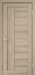 Межкомнатная дверь Велдорис Linea 3 дуб шале песок