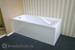 Каменная ванна Bristol Мира белая 180*80