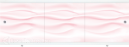 Экран под ванну Метакам Монолит-М Розовый 150, 170 см