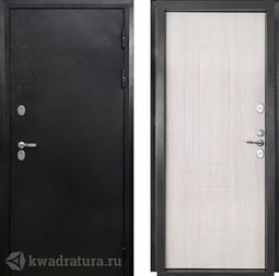 Дверь входная металлическая Форт ТЕРМО Т-204 античное серебро/капучино