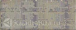 Декор для настенной плитки AZORI Nuvola Greige Greige Labirint 50,5*20,1 см