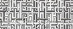 Декор для настенной плитки AZORI Nuvola Greige Light Labirint  50,5*20,1 см
