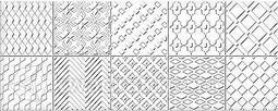 Декор для настенной плитки AZORI Nuvola Greige Ornament 50,5*20,1 см