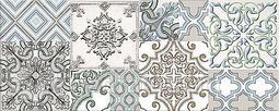 Декор для настенной плитки AZORI Nuvola Greige Selena 50,5*20,1 см