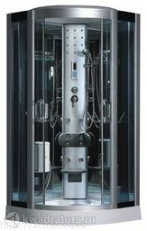 Душевая кабина ODA 8318 тонированное стекло 100*100 см