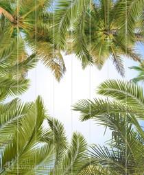 Потолочная панель ПВХ Unique Пальмы 2*2,5 м