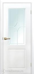 Дверь межкомнатная Сибирь Профиль Квартет ПО белая