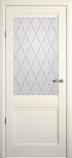 Межкомнатная дверь Фрегат (ALBERO) Рим Ваниль с/о Гранд