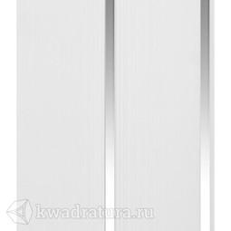 Потолочная панель 2-х секционная Серебро