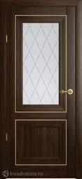Межкомнатная дверь Фрегат (ALBERO) Империя Прадо ПО Дуб Антик