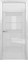 Межкомнатная дверь Фрегат (ALBERO) Прага глянец белый