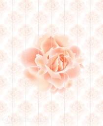 Потолочная панель ПВХ Unique Роза 2*2,5 м