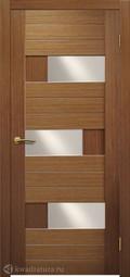Межкомнатная дверь Матадор Руно 2 орех люкс