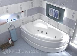 Акриловая ванна Bas Сагра 160*100 БЕЗ ГИДРОМАССАЖА левая/правая