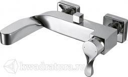 Смеситель для ванны с коротким изливом BRAVAT WAVE F674108C-01