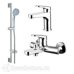 Набор для ванной 3 в 1 BRAVAT ELER F00450CP