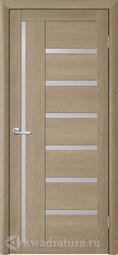 Межкомнатная дверь Фрегат (ALBERO) T-3 лиственница латте