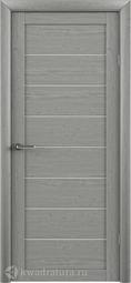 Межкомнатная дверь Фрегат (ALBERO) T-1 ясень дымчатый