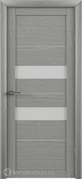 Межкомнатная дверь Фрегат (ALBERO) T-4 ясень дымчатый