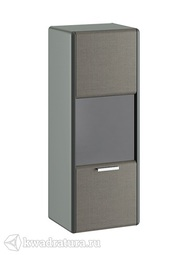 Шкаф навесной «Наоми» серый ТР