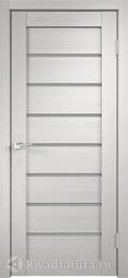 Межкомнатная дверь Velldoris (Веллдорис) Уника 1 дуб белый, стекло мателюкс