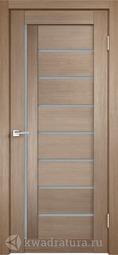 Межкомнатная дверь Velldoris (Веллдорис) Уника 3 бруно, стекло мателюкс
