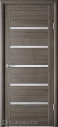 Межкомнатная дверь Фрегат (ALBERO) Вена Серый кедр, стекло мателюкс