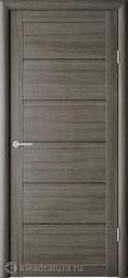 Межкомнатная дверь Фрегат (ALBERO) Вена Серый кедр, глухое
