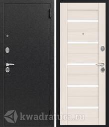 Дверь входная металлическая Сибирь S-7 медь/капучино