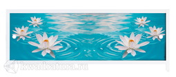 Экран под ванну Метакам Ультралегкий-Арт водяная лилия 150, 170 см