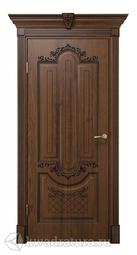 Межкомнатная дверь ДвериХолл Олимпия Экошпон Дуб Янтарный, глухая