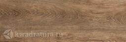 Керамогранит Grasaro Italian Wood G-252/SR тёмно-коричневый матовый 20*60 см